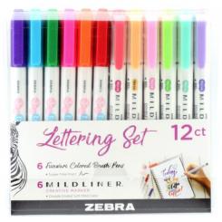 ZEBRA MILDLINER LETTERING SET